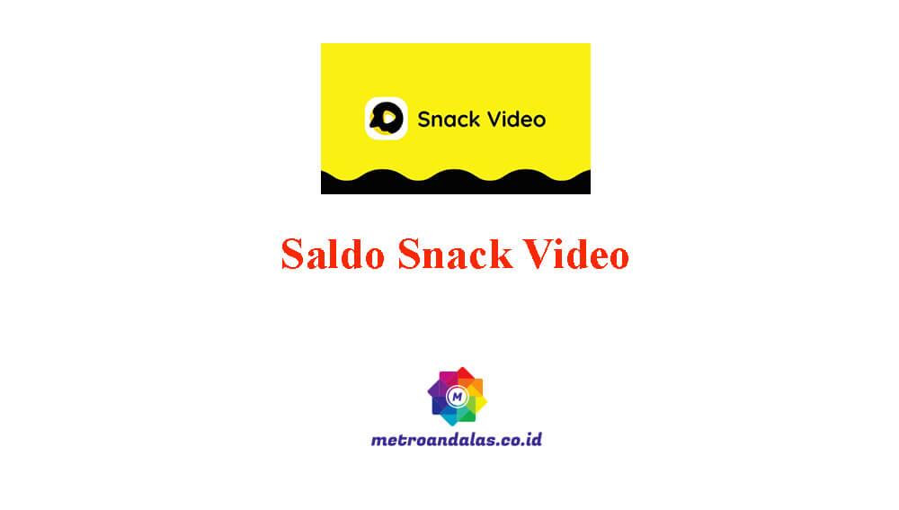 Cara Menarik Saldo Snack Video Lewat Gopay