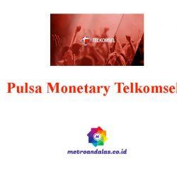 Pulsa Monetary Telkomsel
