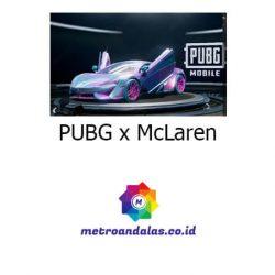PUBG x McLaren