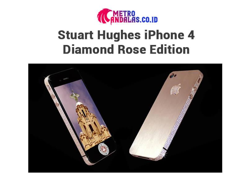 5 HP Termahal di Dunia Stuart Hughes iPhone 4