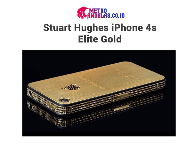 5 HP Termahal di Dunia iPhone 4s Elite Gold