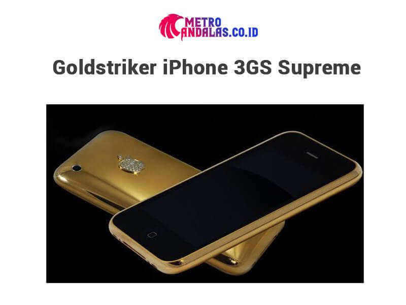 5 HP Termahal di Dunia iphone 3gs supreme