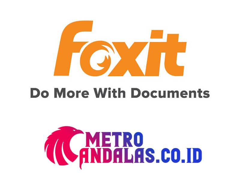 Cara Mengubah PDF foxit