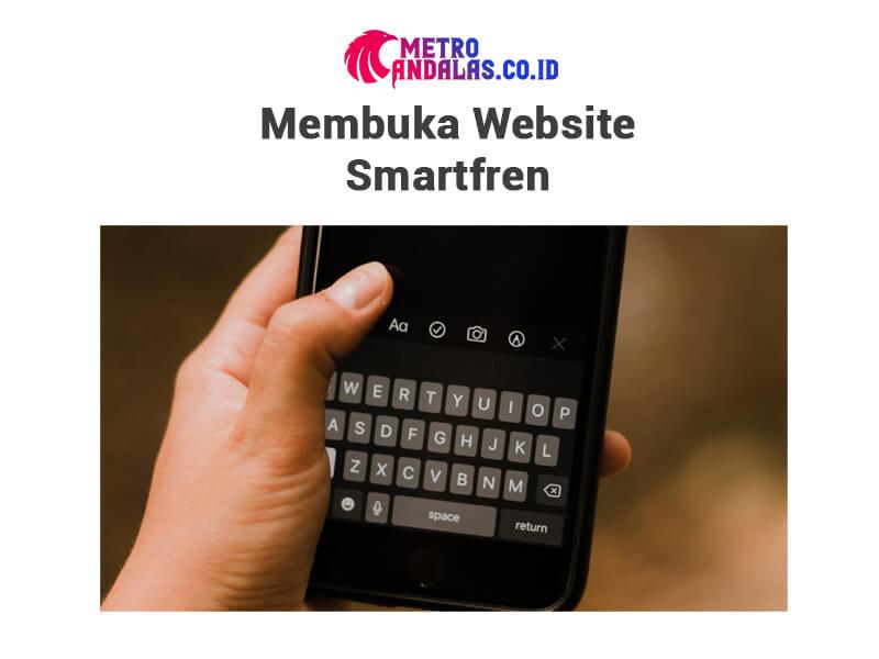 Cara Cek Pulsa Smartfren Website