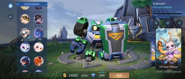 Cara Mendapatkan Hero Kaboom Mobile Legends