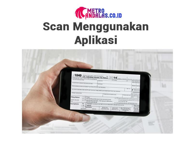 Cara Scan Foto di HP 1