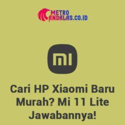 HP Xiaomi Baru Murah