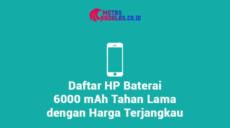 HP Baterai 6000 mAh