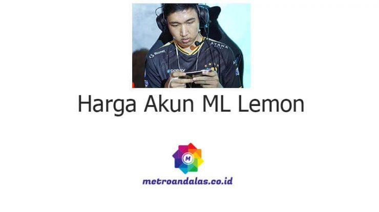Harga Akun ML Lemon