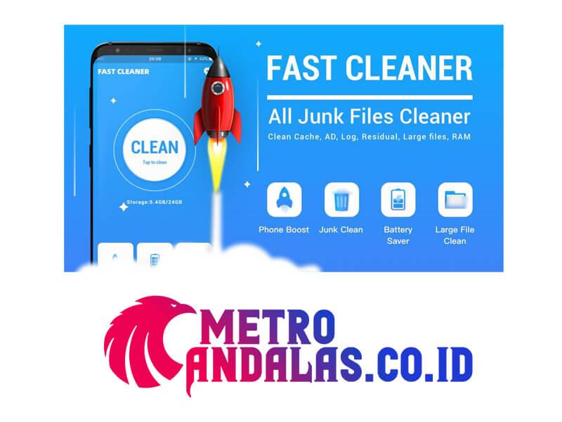 Kumpulan-Aplikasi-Cleaner-Android-Ringan-Terbaik-2021-Fast-Cleaner
