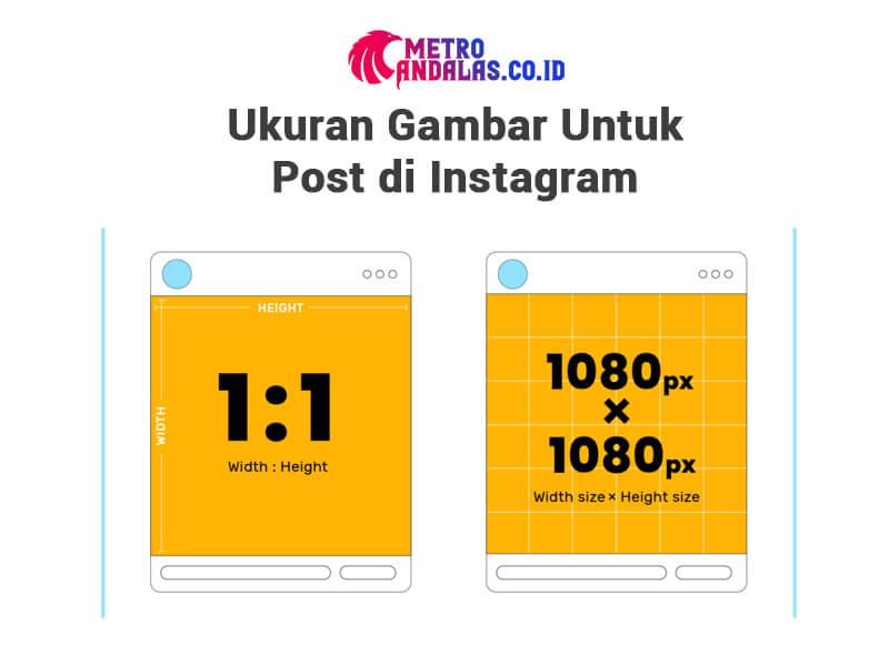 Ukuran Gambar Instagram Paling Tepat