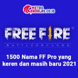 1000 Nama FF Pro yang keren dan masih baru 2021