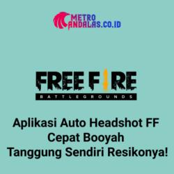Aplikasi Auto Headshot FreeFire