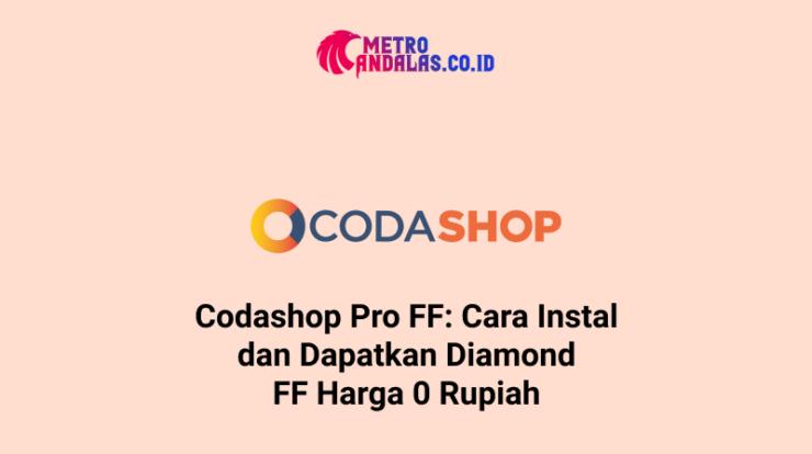 Codashop Pro FF