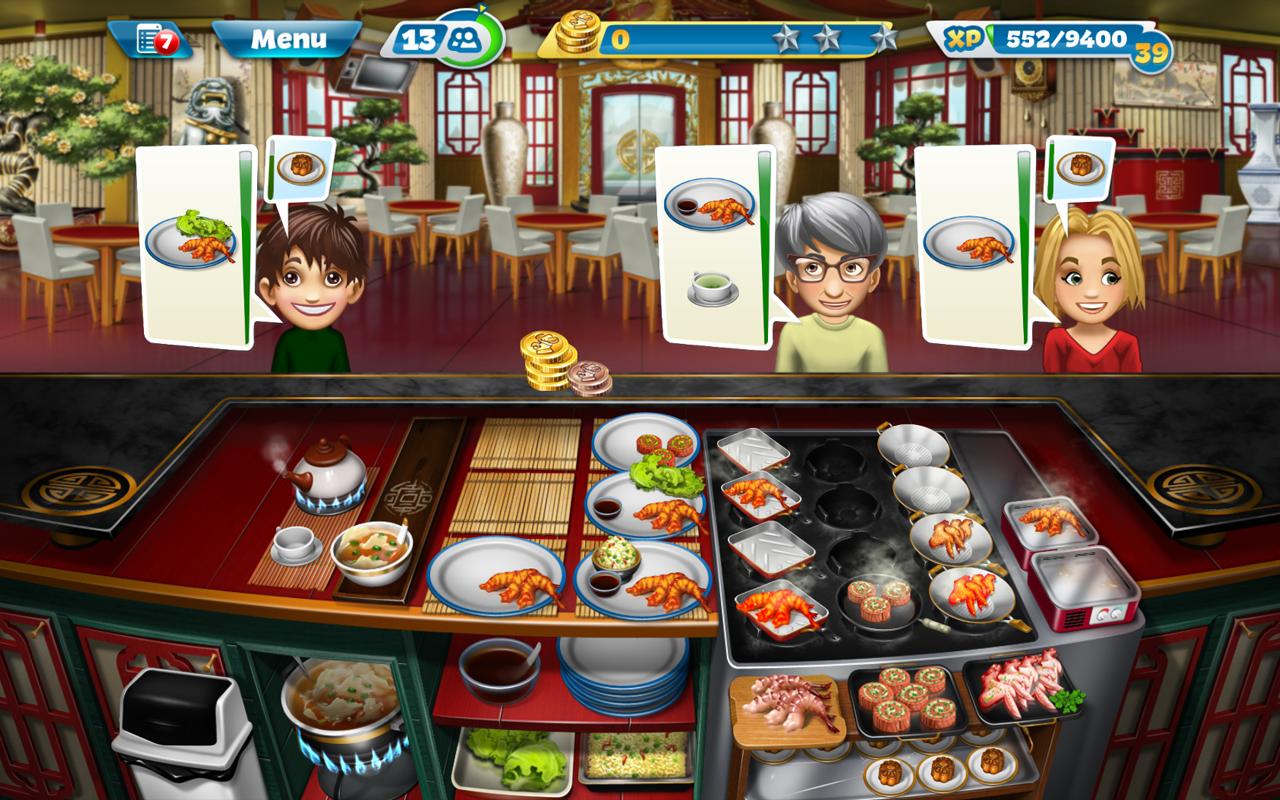 Game Android Bertema Memasak - Cooking Fever