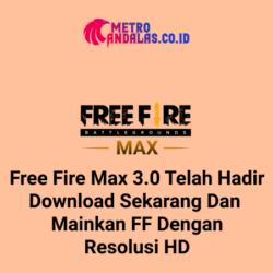 Free Fire max 3.0