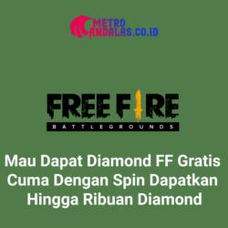 Aplikasi Spin Diamond FF