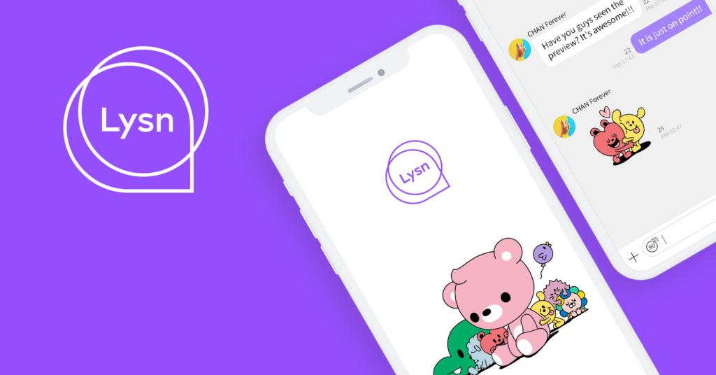 Aplikasi Chat dengan Idol KPOP