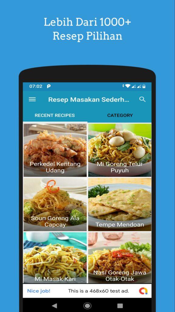 Aplikasi Resep Masakan Offline