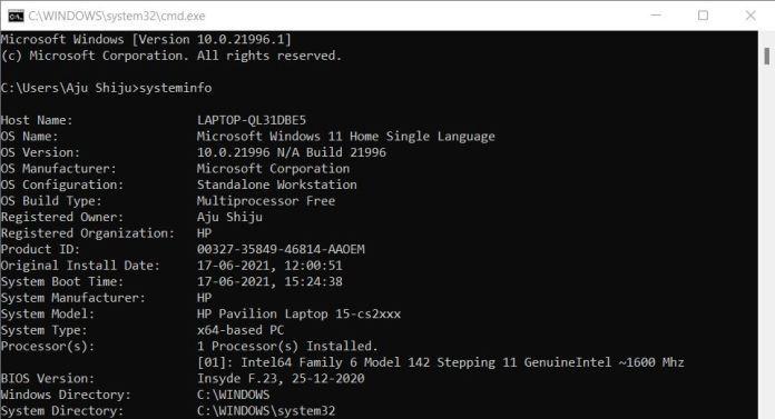 Cara Melihat Spesifikasi Hardware di Windows 11