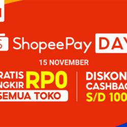 Promo ShopeePay Day Tanggal Tua